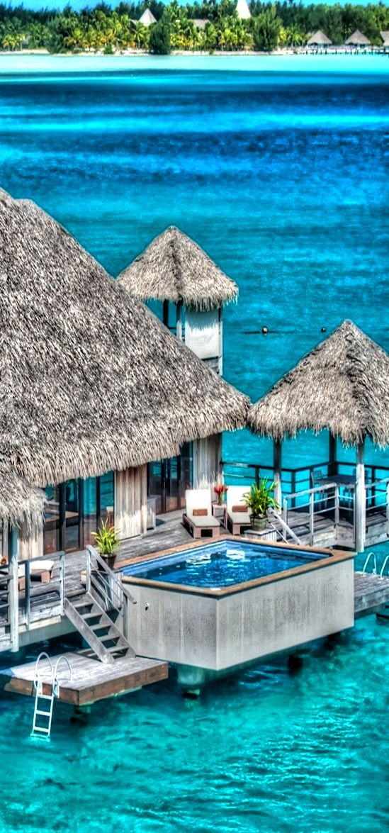 Incredible Pictures Ocean House at St. Regis, Bora Bora | A1 Pictures