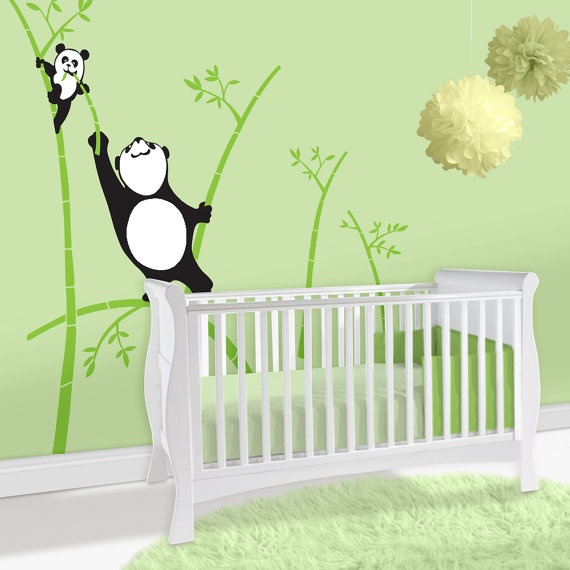 Thank you MEL! We have actually always said that if we have a boy we would do a panda room.  I have a ton of panda paintings from China! :)