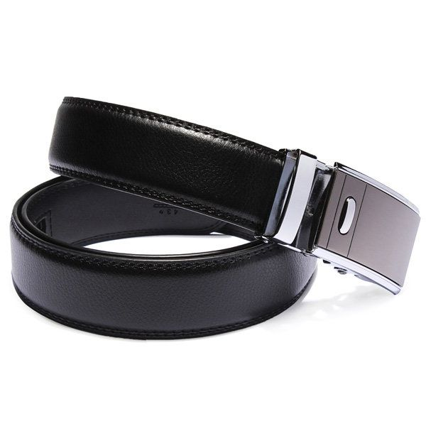 Mens Automatic Buckle Business New Design Leather Cowhide Belt at Banggood