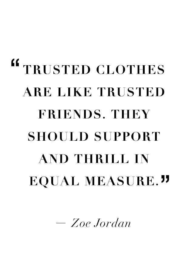 #ZoeJordan gives sound shopping advice. #SaksStyle