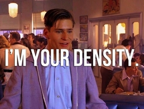 Image result for you are my density george mcfly
