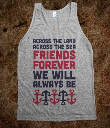awhh yes. friends forever. My best friend loves me!! I like the anchor =)
