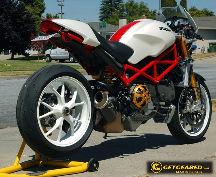 Ducati monster S4RS custom :) #GetGeared