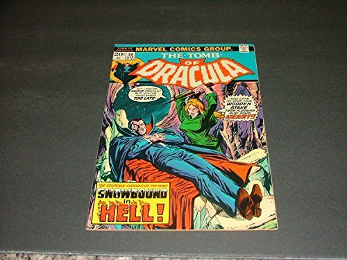 Tomb Of Dracula #19 April 1974 Bronze Age Marvel Comics Blade App @ niftywarehouse.com