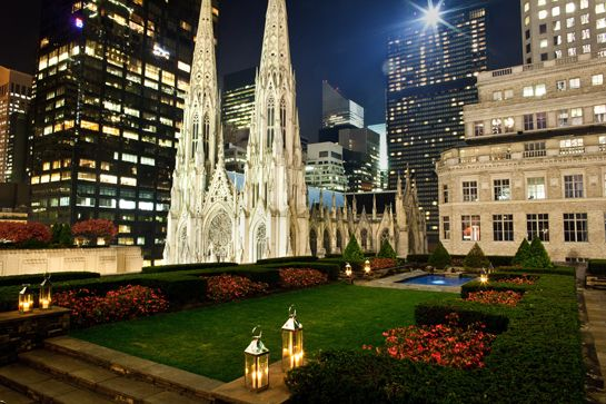14 NYC Secrets Even New Yorkers Don't Know #refinery29  http://www.refinery29.com/secret-hidden-spots-nyc#slide4  Rockefeller Center's Hidden Rooftop Gardens. They filmed White Collar here!