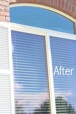 do it yourself divas: DIY Cleaning Hard Water Off Exterior Windows