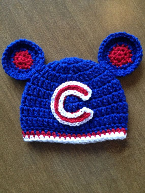 Chicago Cubs inspired hat @Brooke Williams Williams Williams Smous  @Lindsay Dillon Dillon Dillon Bella