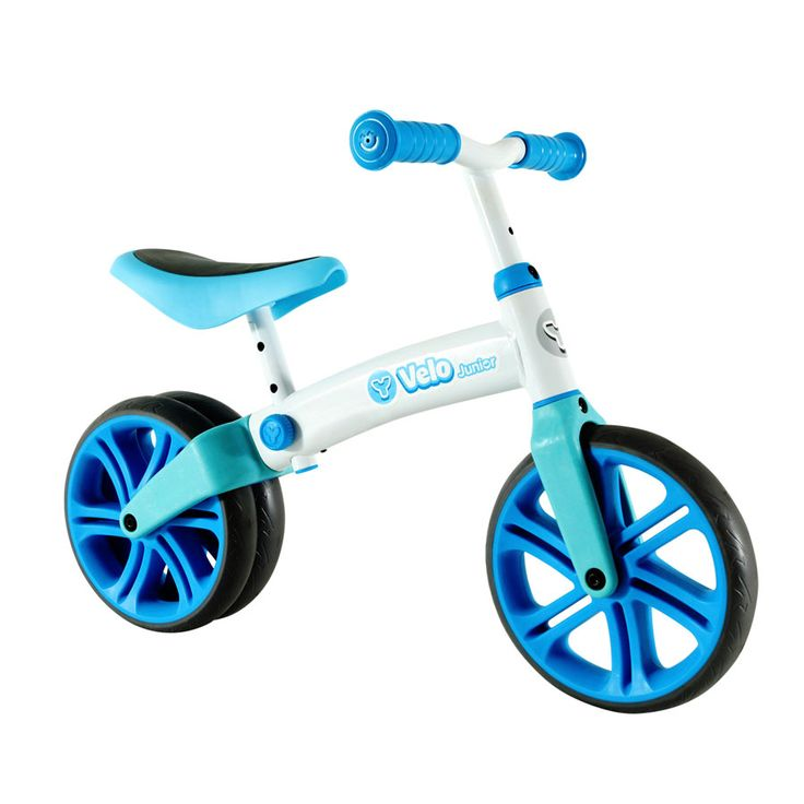 """Y Volution Velo Junior Balance Bike - Blue 