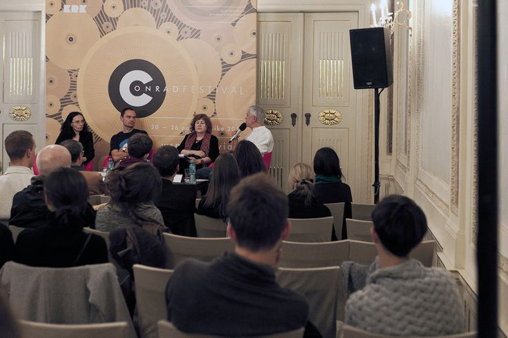 Conrad Festival 2014 - Literary Machines. Meeting with Jacques Jouet - pic. Konstancja Nowina Konopka