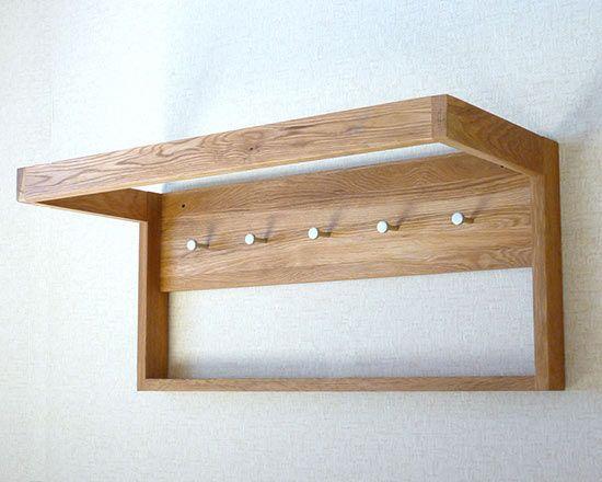 Storage :: Solid Oak Infinity Wall Hanger   Futon Company | Futons | Sofa  Beds