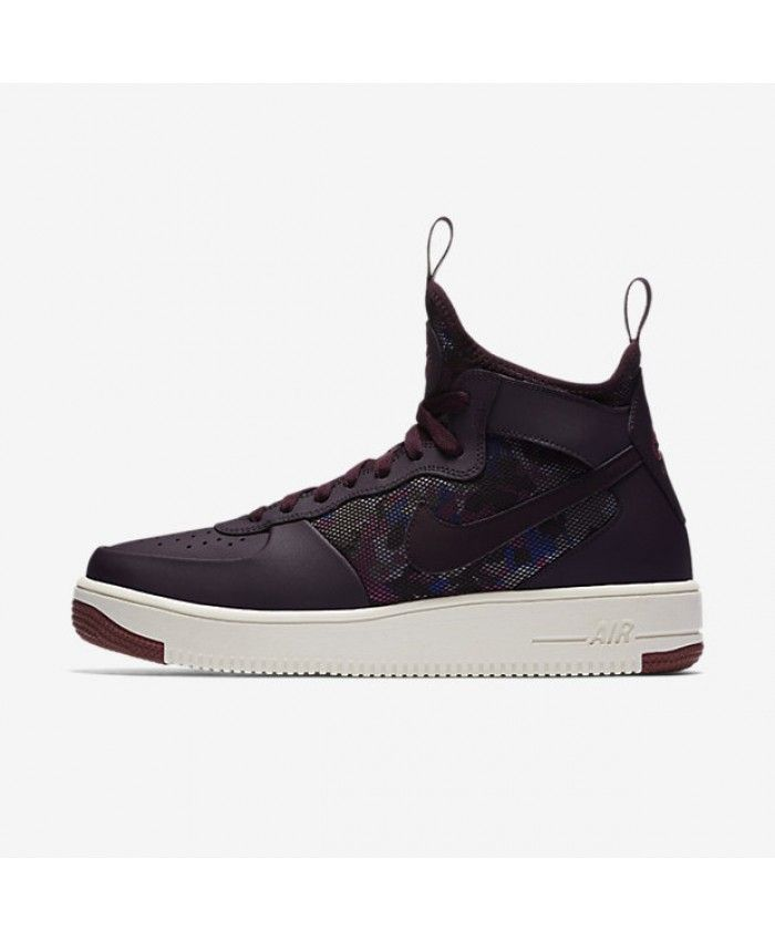 low priced 2fa4d c3d5d Nike Air Force 1 UltraForce Mid Port Wine Port Summit White Port Wine  864014-601