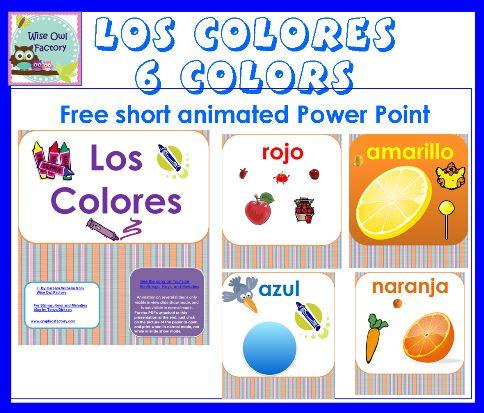6-colores-info-photo. Presentación de power point