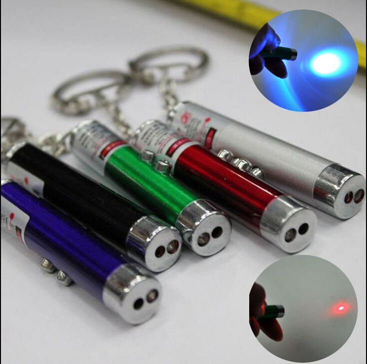 awesome 2 In1 Red Pointer Pen White LED Light Childrens Cat Toy Pet Accessories Pet HOT