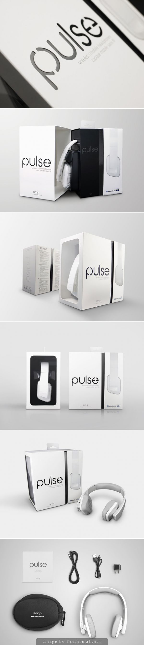 PULSE Headset, Creative Agency: CRE8 DESIGN, http://www.packagingoftheworld.com/2014/10/pulse-headset.html
