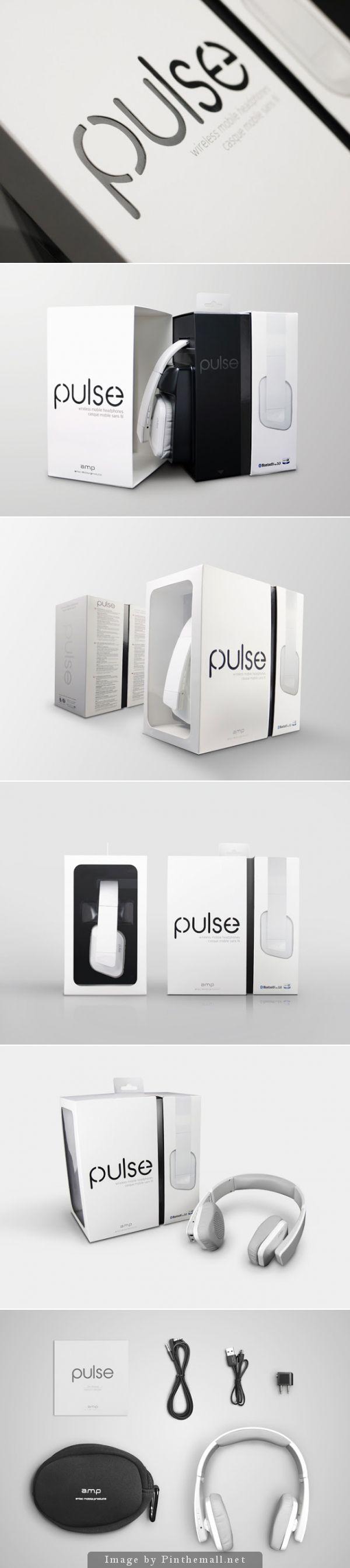 PULSE Headset, Creative Agency: CRE8 DESIGN, http://www.packagingoftheworld.com/2014/10/pulse-headset.html