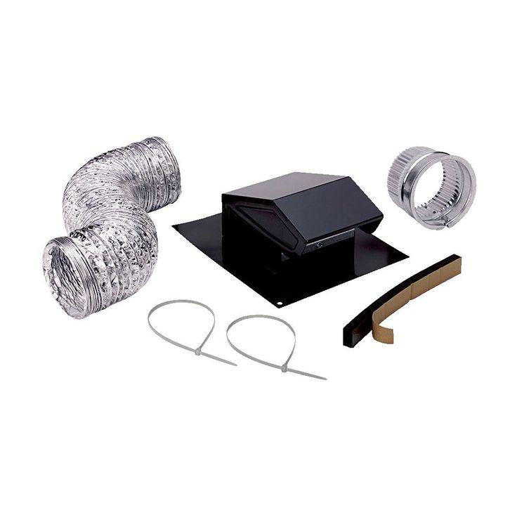Jensen Broan RVK1A Roof Vent & Cap Kit (Roof Vent & Cap), Silver