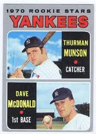 Thurman Munson Baseball Cards