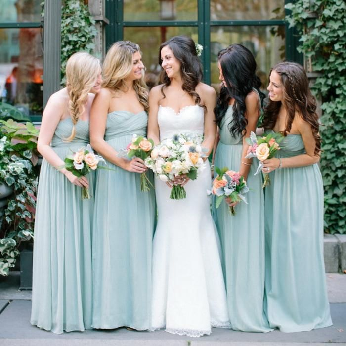 Bridesmaid Gown 2016 Summer Garden Wedding Bridesmaid Dresses Sweetheart Neck Sweep Train Chiffon Dresses For Bridesmaid Cheap 2016 Spring Newest Bridesmaid Gowns From Ourfreedom, $99.48| Dhgate.Com