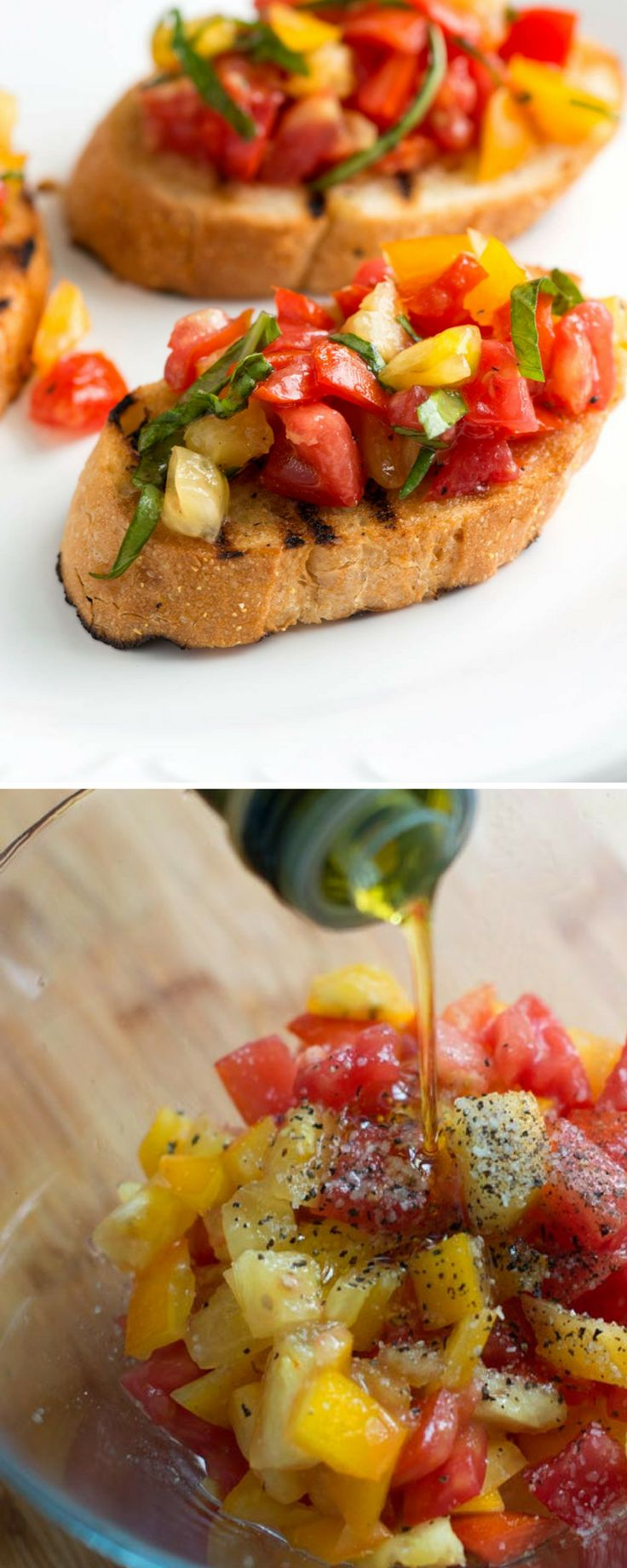 How to make our favorite homemade bruschetta with tomatoes and basil. Plus, five easy tips for how to make it best.