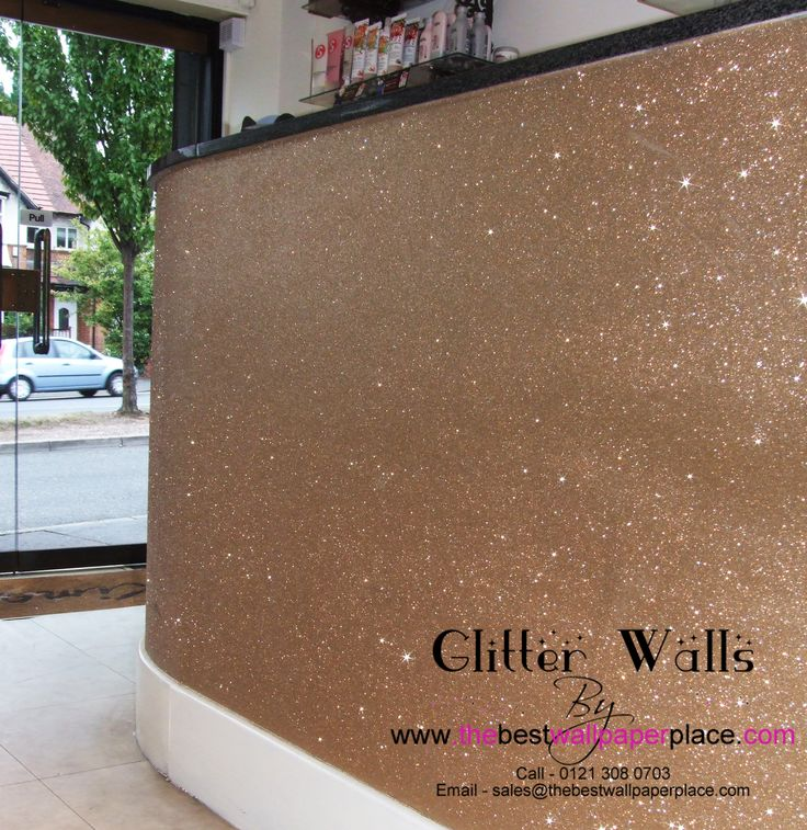 champagne glitter wallcovering from http. Black Bedroom Furniture Sets. Home Design Ideas