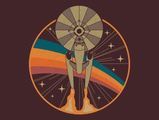 Stardate 1966 T-Shirt - Star Trek T-Shirt is $11 today at TeeFury!