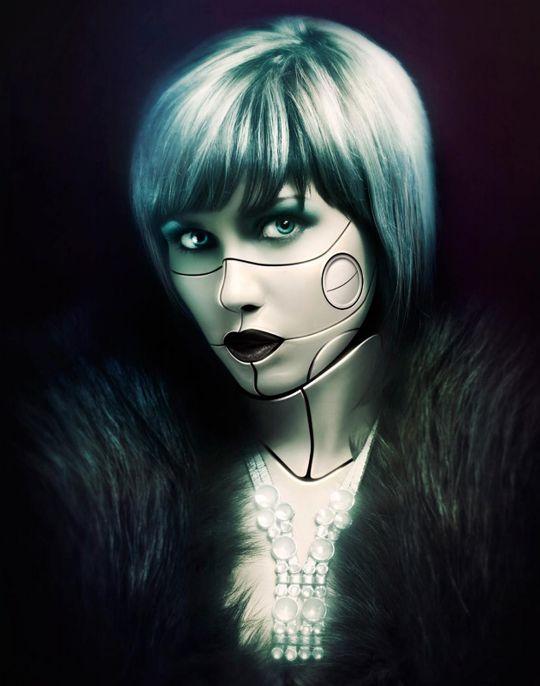 Human android girl himari seto and ai mizushima 2