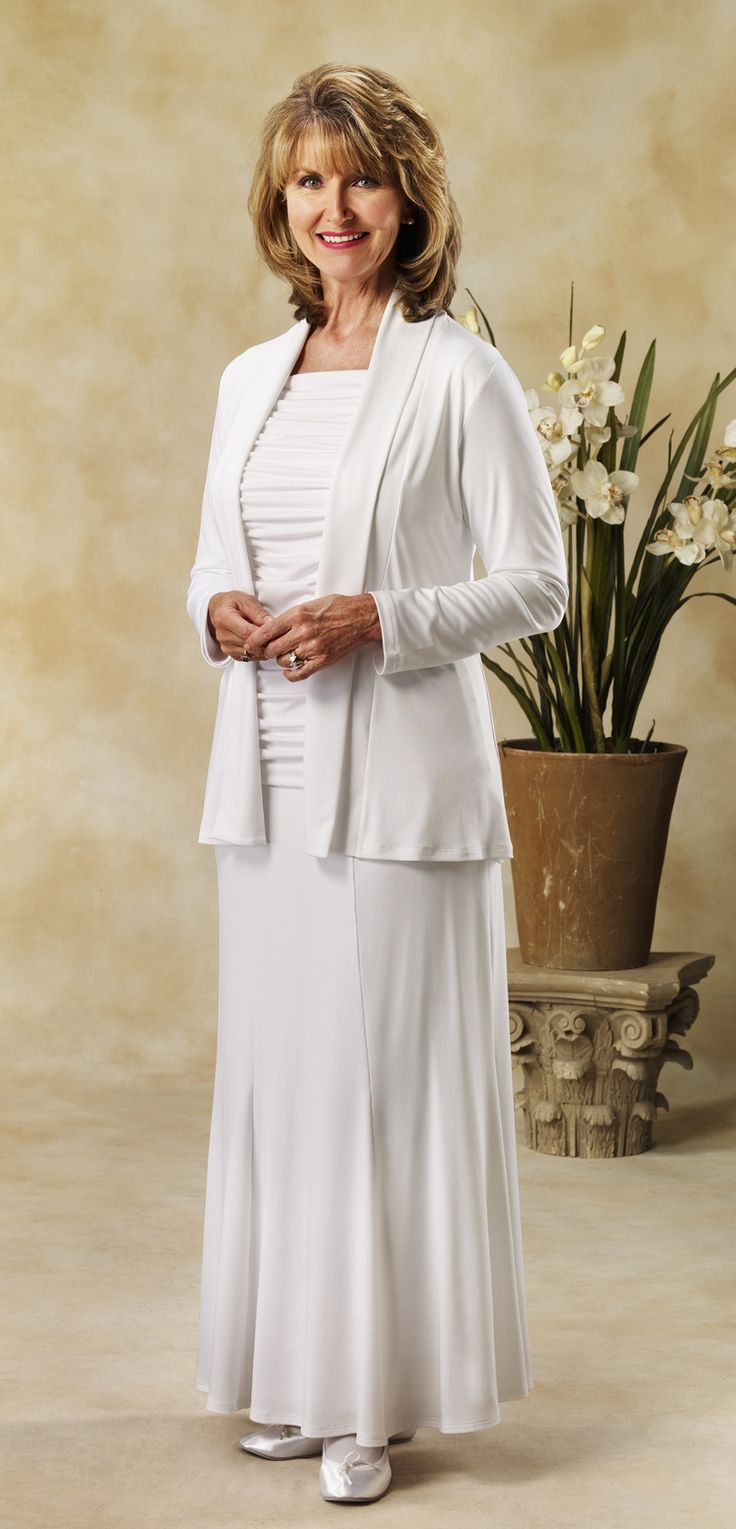 pioneer menand 39 s clothing. three piece knit seperates: white jacket, skirt and ruched top. - elegance makers of lds temple clothes, dresses, pioneer costumes menand 39 s clothing o
