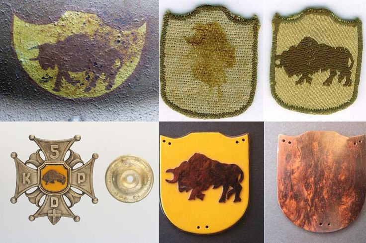 WII Polish Army 5th Kresowa infantry Division badge.