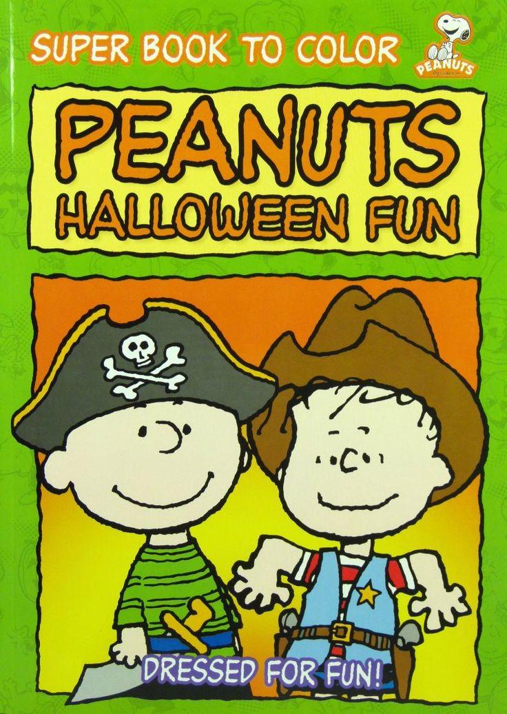 peanuts halloween fun - Charlie Brown Halloween Book