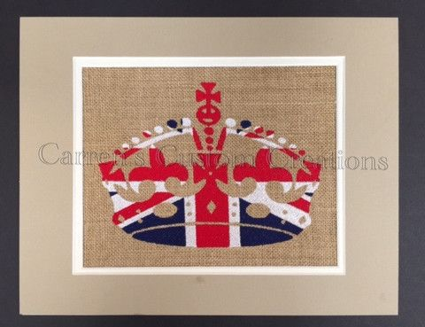 Union Jack Crown – Carren's Custom Creations