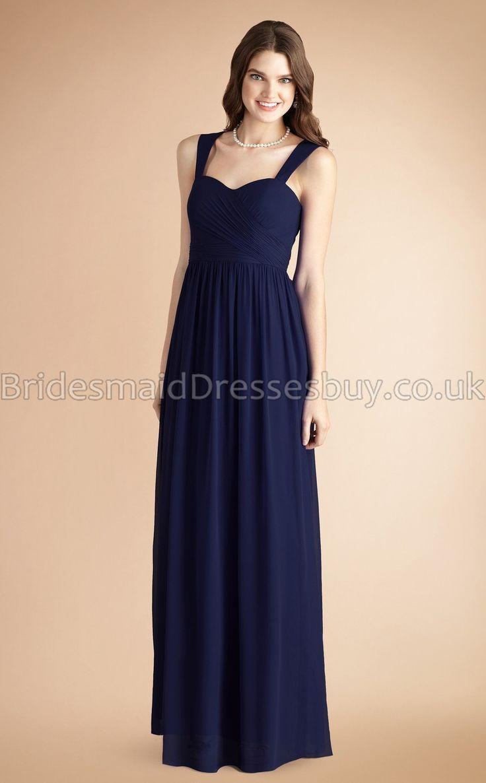 86 best wedding dresses images on pinterest wedding dressses navy blue long bridesmaid dresses ombrellifo Image collections
