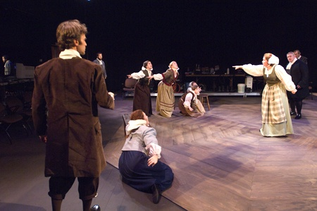 the play the crucible is set in new england essay The college at brockport: state university of new york  part of the fiction  commons, and the literature in english, north america  as many critics have  noted, arthur miller's drama, the crucible, was written as a  marie bonnet  points out her essay, ''society vs the individual in arthur miller's the.