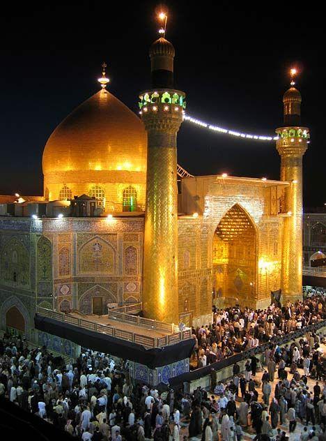 Karbala, the shrine of Imam hussain(AS) and Imam Abbas (AS)