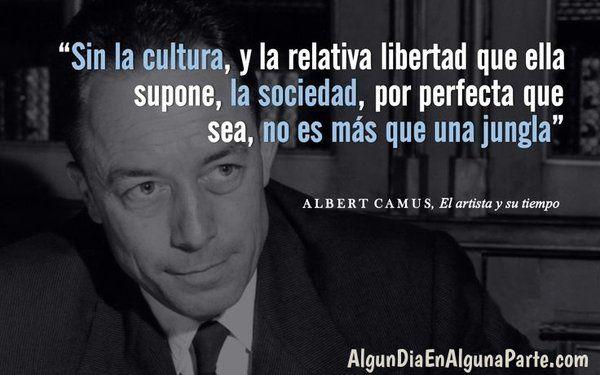 Albert Camus #citas