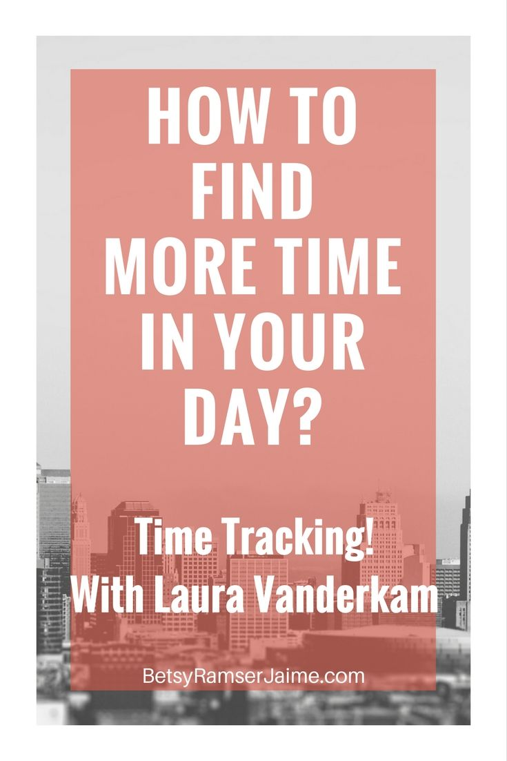 Time Tracking. Do you wish that you had more time in the day? Of course, we all do! Time tracking is a great way to see how you're REALLY spending your time and to find little pockets of time for the things that matter most.