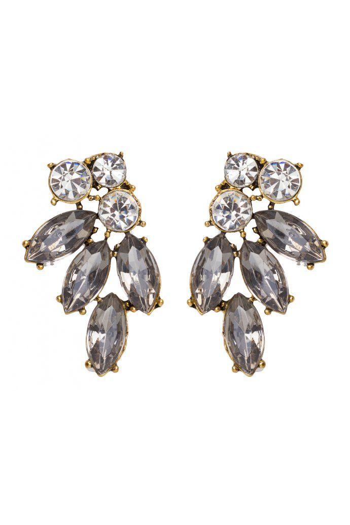 Leaf Glam Earrings $5.95