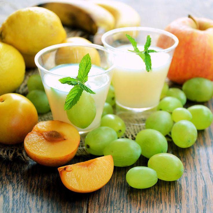Apricot, Grape, Banana and Apples Smoothie