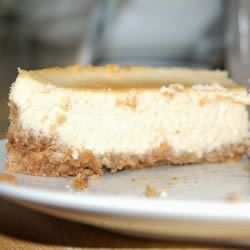 Just plain-old, extra good cheesecake like the ones from New York and Philly.