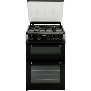 Beko BDVG693K 60cm Double Oven Gas Cooker- Black The Power of Gas: The Beko BDVG693K cooker has two large conventional ovens ndash