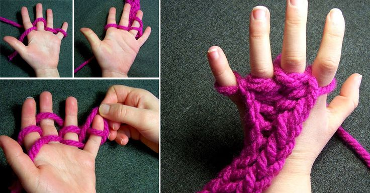 Use this fun and easy way to get children interested in wool crafts!