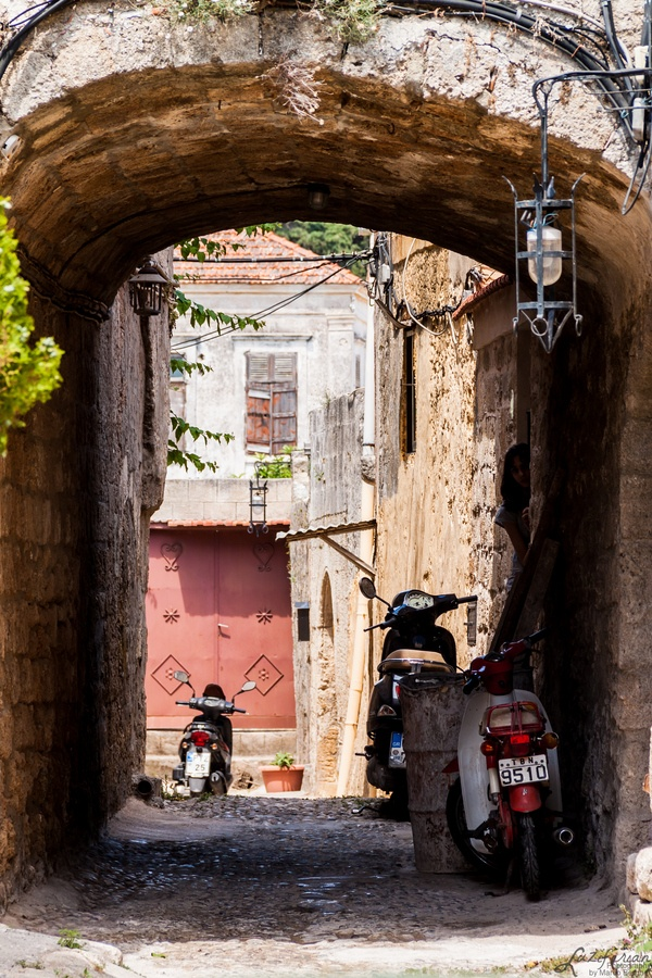 The Alleys of Rhodes #Greece