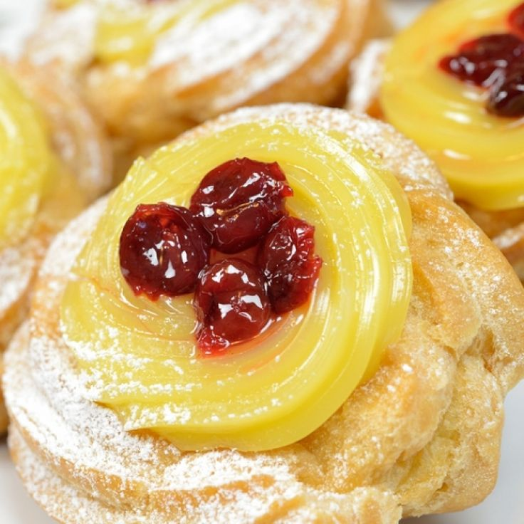 This Zeppole Recipe Has A Wonderful Creamy Filling And Topping Zeppole Recipe From Grandmothers