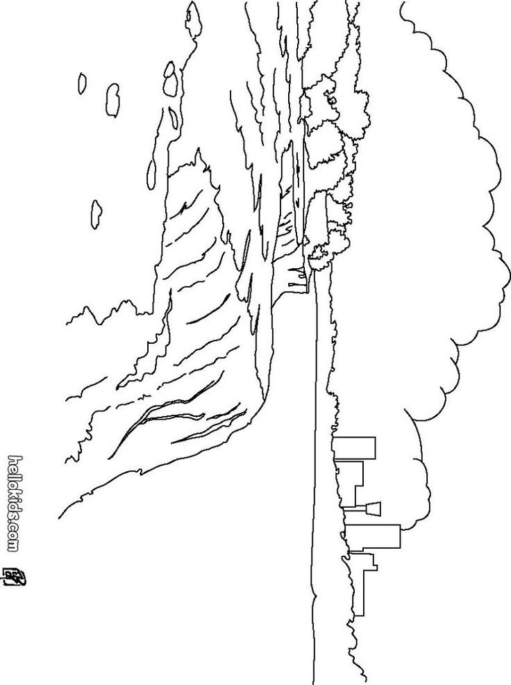 Niagara Falls coloring page