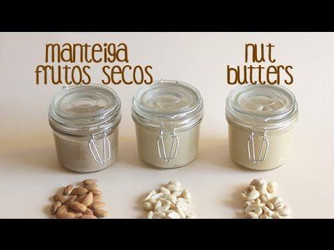 Manteiga de frutos secos | Nut butters - Made by Choices