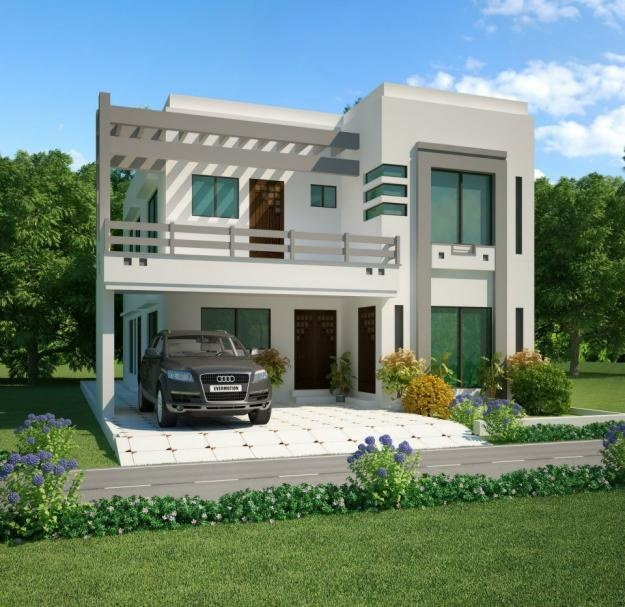 D Front Elevation Of Small Houses : Kanal house maps d front
