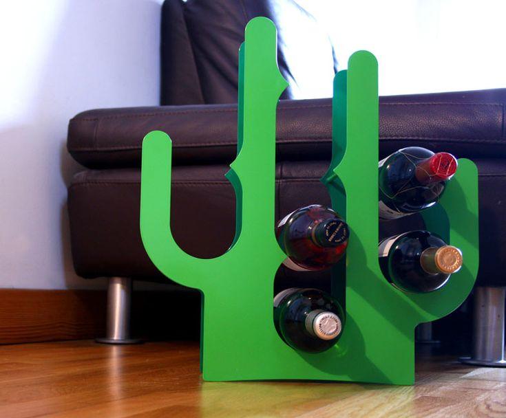 Stojak na wino Cactus - J-me w fabrykaform.pl
