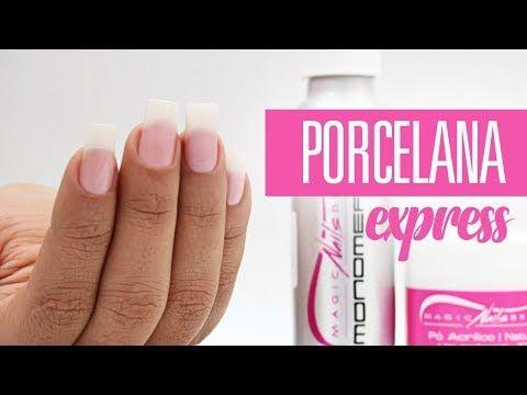 Unha de Porcelana + Fácil de TODAS | Cola na Villar - YouTube