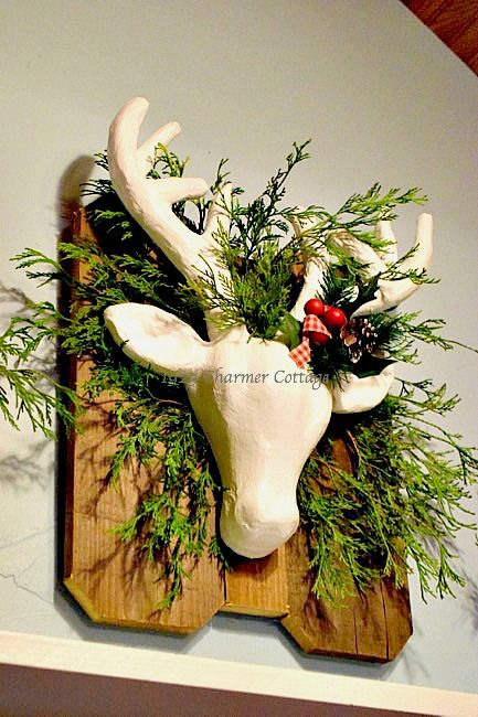 My 1929 Charmer | DIY Woodland Deer Head | A easy, less than 30 minutes and under $8 to make.