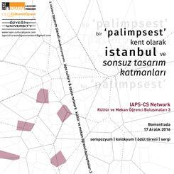 IAPS-CS Network Kültür ve Mekan Öğrenci Buluşmaları 3