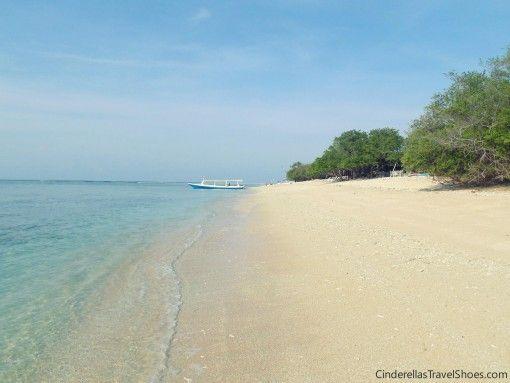 Untouched beach in Gili islands